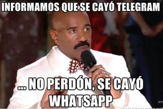 Caida De Whatsapp Picture: Noticias24Siete